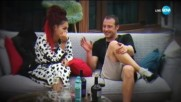 Нова любов в Къщата: Джулиана и Wosh MC