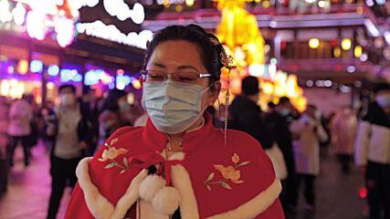 Yuyuan Garden illuminated as Lantern Festival kicks off in Shanghai despite pandemic