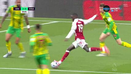 Арсенал - Уест Бромич Албиън 2:0