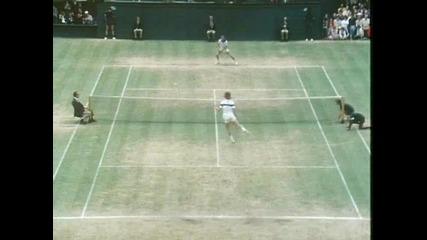 Wimbledon 1981 - borg/mcenroe