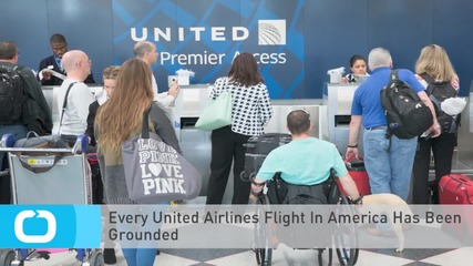 Every United Airlines Flight In America Has Been Grounded
