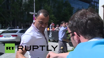 Germany: Football's stars flood Berlin for Champions League Final