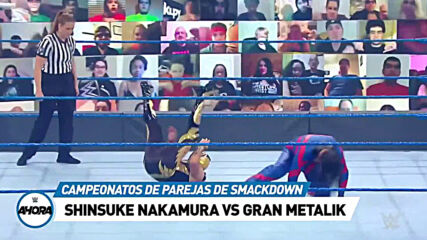 REVIVE SmackDown en 7 minutos: WWE Ahora, Sep 25, 2020
