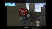 sneik - nice trick on rooftops