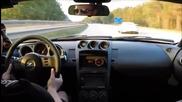 Nissan 350z се надпреварва с Porsche 991 и се случва нещо интересно