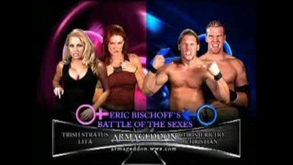 Trish Stratus & Lita vs. Chris Jericho & Christian - Wwe Armageddon 2003
