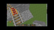 Minecraft Tv Tutorial ep.8 Как Се Прави Готина Minecart Писста За Начинаещи