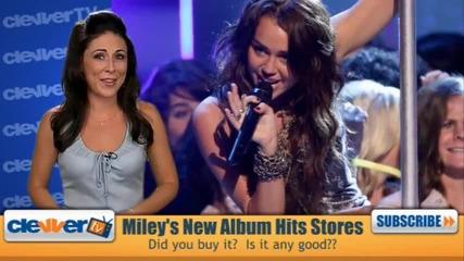 Какво мисли Майли за нейтият албум!