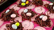 Шоколадови великденски гнезда