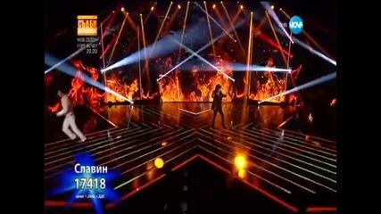 Slavin Slavchev и Joe Lynn Turner -street of Dreams X Factor 09.02.2015