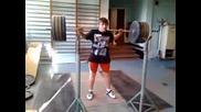 клек с 145 кг :)