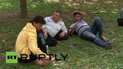 Croatia: Refugees hope for trains in Zagreb asylum refuge