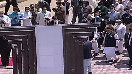 Pakistan: PM Imran Khan leads solidarity walk in Muzaffarabad