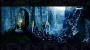 Lord of te Rings The Elves arrive at Helms Deep