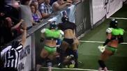 Даника Брейс най - жестоката в американския футбол