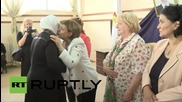 Syria: Saint Paul's fund delegation visits kindergarden in Damascus