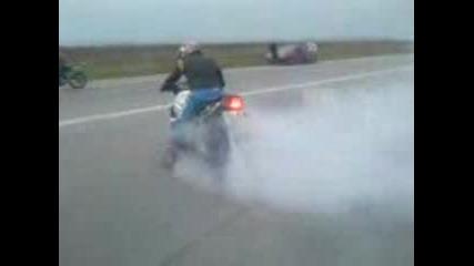 Писта Бяла Слатина - Мотористи