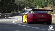 Уникален звук!! V12 Ferrari 550 Gt __ Piero Nappi __ Reventino 2015