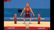 Олимпийски игри 2012 - Вдигане на тежести