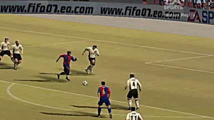 Фифа 07 демо гол на Ето'о
