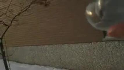 Балонче от веру замръзва при - 26 градуса