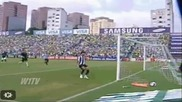 Бразилски национал вкара гол от центъра