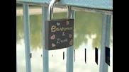 В Пловдив заключват любовта с катинари на моста на Гребната база