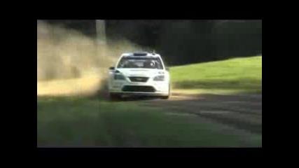 Mikko Hirvonen Testing Ford Focus