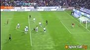 Реал Сарагоса - Барселона 1 - 4 07.04.2012