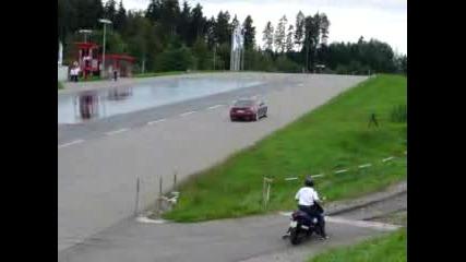 Robert Kubica Drives Bmw M5