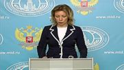 Russia: Zakharova warns of tensions in Odessa ahead of May 2