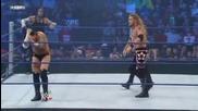 Smackdown 2009/07/03 Edge & Chris Jericho vs Cm Punk & Jeff Hardy *първа част*