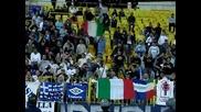 Lazio ultras support Levski Sofia