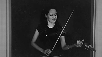 Caitlin De Ville - Bailando (enrique iglesias) (electric violin cover)