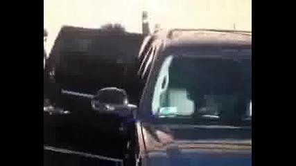 Tokio Hotel Leaving The Cd Signing In Arizona.