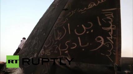 Миг-25 е бил свален от либийската армия