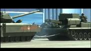 Магарешкия инат на танк Армата T-14 .не иска да върви.