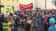 Austria: Vienna protests in solidarity with refugees