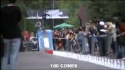 Достоен Гинес рекорд със скейтборд , номерът е неповторим!