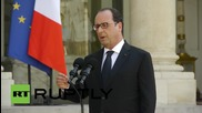 France: Hollande calls for nation to 'unite' to 'fight against terrorism'