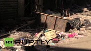 Lebanon: Police forensic experts inspect double bomb site in southern Beirut