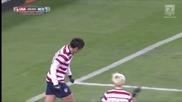 Женски футбол- Сащ- Шотландия,13.02.2013, гол на Аби Уамбах