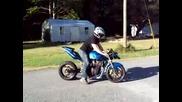 Suzuki Bandit 1200cc Streetfighter Burnout