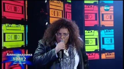 Александрина Макенджиева - Don't Go - X Factor Live (01.12.2015)