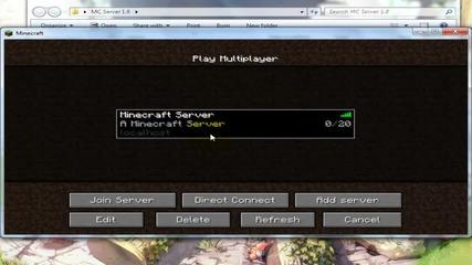 Как да си направим сървър на Minecraft 1.8 Бг Аудио *hd*