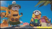 Пустиняци на плаж баце(смях)