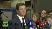 Belgium: Novak & Miller hold presser after Russia agrees to supply Ukraine with winter gas