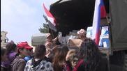 Хуманитарната помощ за Сирия продължава да пристига