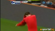 28.08.2010 Манчестър Юнайтед - Уест Хям 3:0 Изумителен Гол На Бербатов!