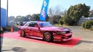 Тунинг Изложение - Оргазъм за ушите Nissan Silvia